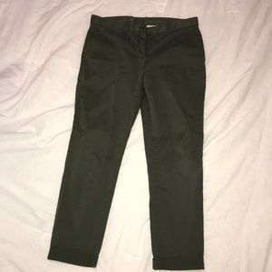 Hunter Green Gap Khakis
